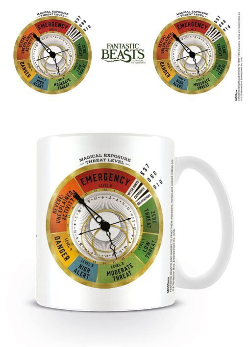 Phantastische Tierwesen Tasse Threat Level