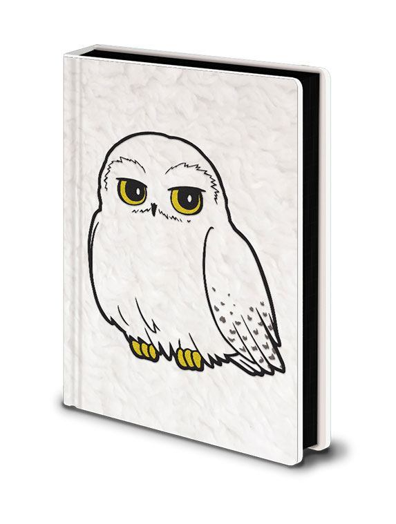 Harry Potter Premium Notizbuch A5 Hedwig Fluffy