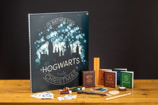 Harry Potter Adventskalender Hogwarts Christmas