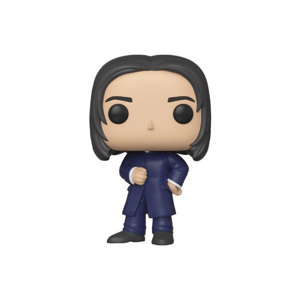Harry Potter POP! Movies Vinyl Figur Severus Snape (Yule) 9 cm