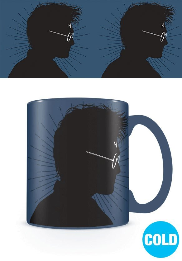 Harry Potter Tasse mit Thermoeffekt Magic Portrait
