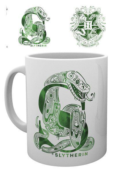 Harry Potter Tasse Slytherin Monogram
