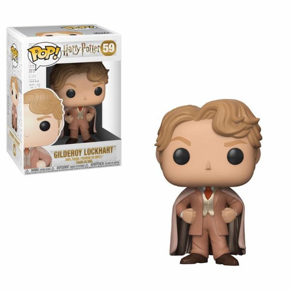 Harry Potter POP! Movies Vinyl Figur Gilderoy Lockhart 9 cm