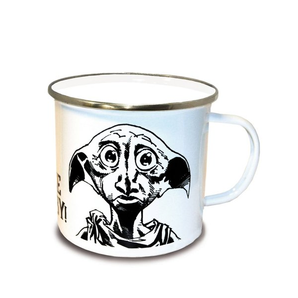 Harry Potter Emaille Tasse Free Dobby