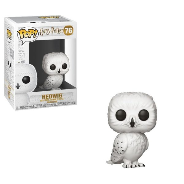 Harry Potter POP! Movies Vinyl Figur Hedwig 9 cm