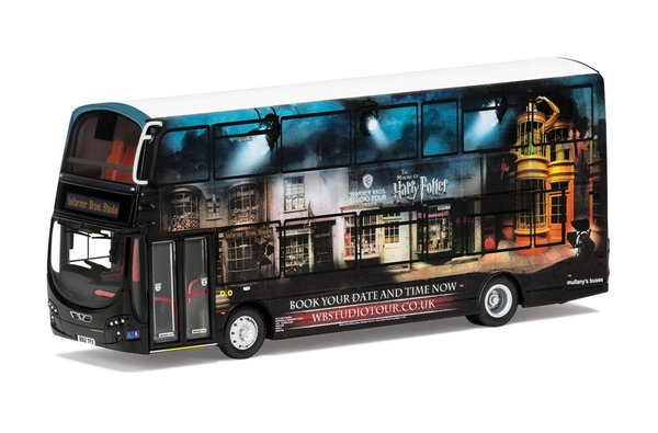 Harry Potter Diecast Modell 1/76 Wright Eclipse Gemini 2 Warner Bros. Studio Shuttle Bus
