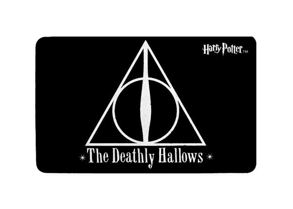Harry Potter Teppich Deathly Hallows 80 x 50 cm