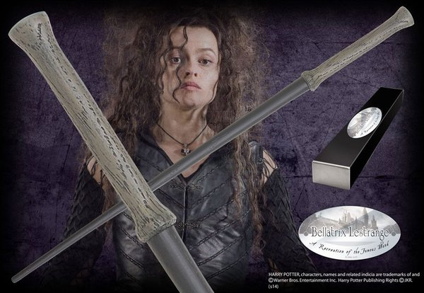 Harry Potter Zauberstab Bellatrix Lestrange (Charakter-Edition)