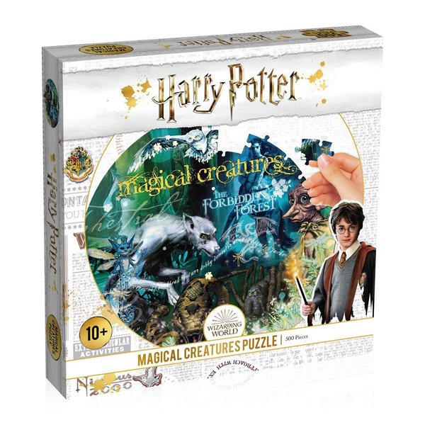 Harry Potter Puzzle Magical Creature
