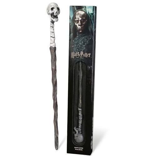 Harry Potter Zauberstab-Replik Death Eater Skull 38 cm