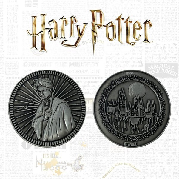 Harry Potter Sammelmünze Harry Limited Edition