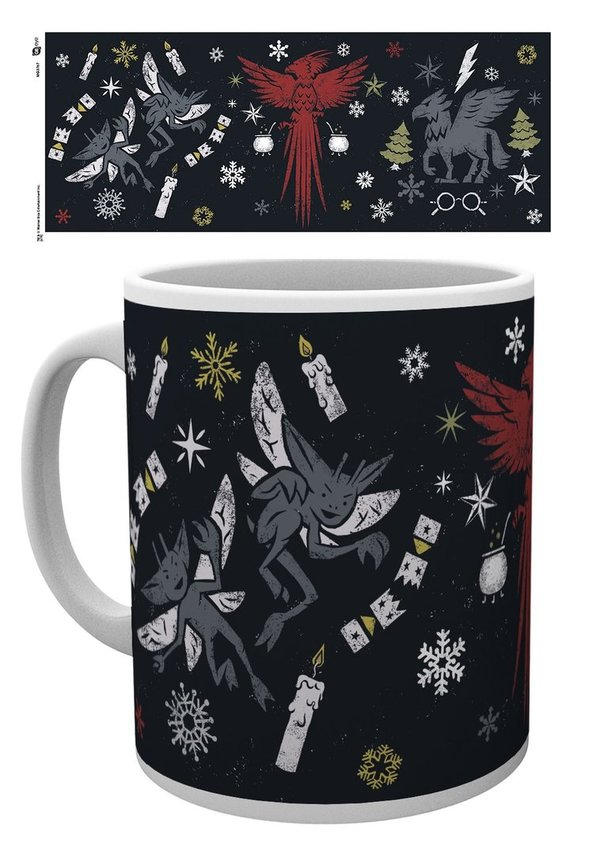 Harry Potter: Christmas Mug - Tasse