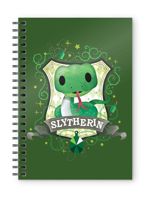 Harry Potter Notizbuch Slytherin Kids