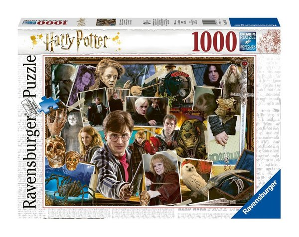 Harry Potter Puzzle Harry Potter gegen Voldemort (1000 Teile)
