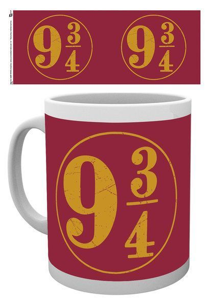 Harry Potter Platform 9 3/4 Red Tasse