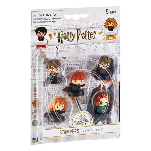 Harry Potter Stempel 5er-Pack Wizarding World Set D 4 cm